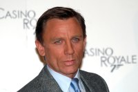 Actor Daniel Craig in Rome, Italy on December 14, 2006. (Photo by Eric VANDEVILLE/Gamma-Rapho via Getty Images)