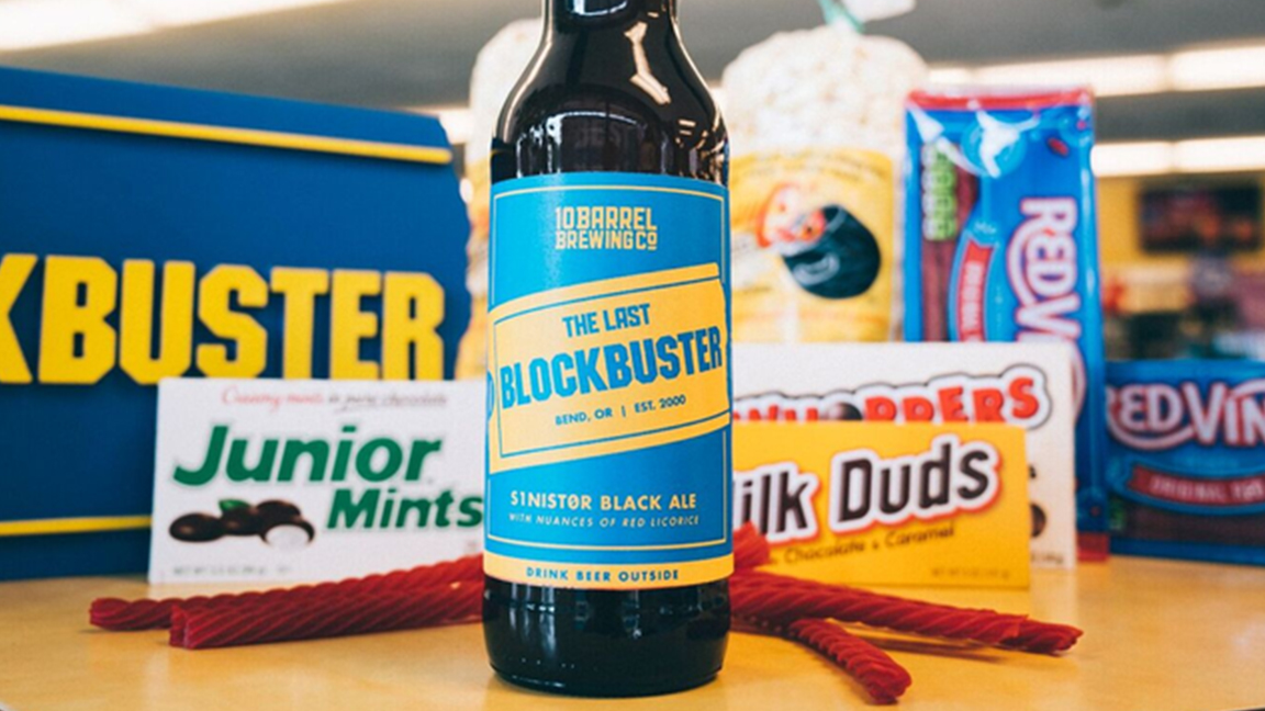 The Last Blockbuster in America Now Has Its Own Craft Beer