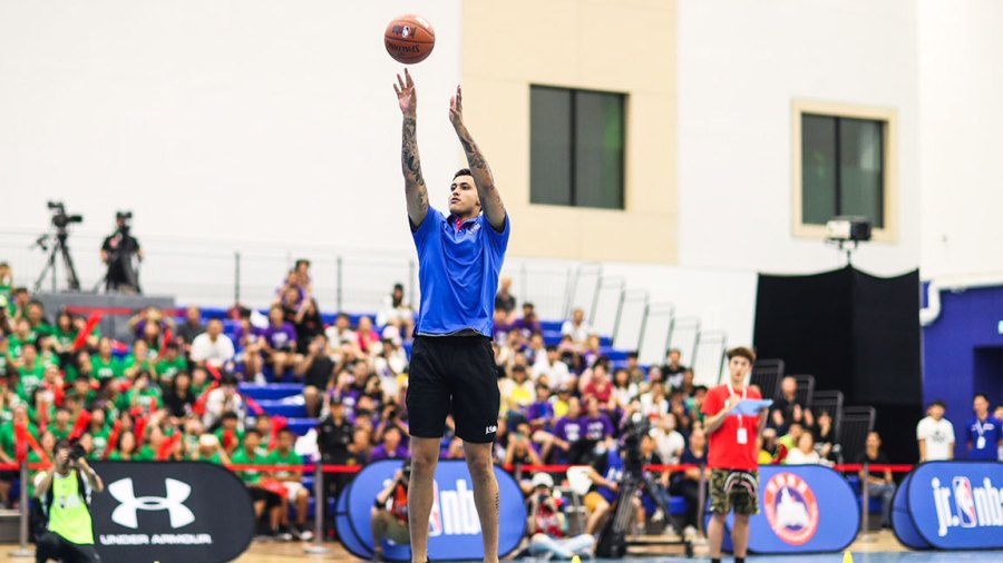 Kyle Kuzma, Los Angeles Lakers star in China with NBA