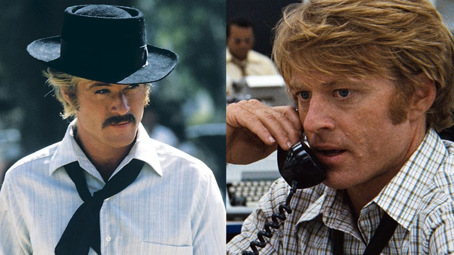 Butch Cassidy and The Sundance Kid - 1969 Robert Redford, Film and Television All The President's Men