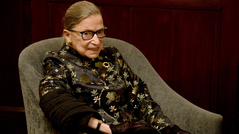 Watch 85-Year-Old Ruth Bader Ginsburg Power Through an Impressive Workout