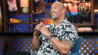 WATCH WHAT HAPPENS LIVE WITH ANDY COHEN -- Pictured: Dwayne Johnson -- (Photo by: Charles Sykes/Bravo/NBCU Photo Bank via Getty Images)