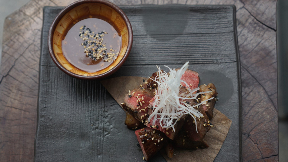 The Secret to a Perfect Grilled Steak Is a Bowl of Karashi Soy Sauce