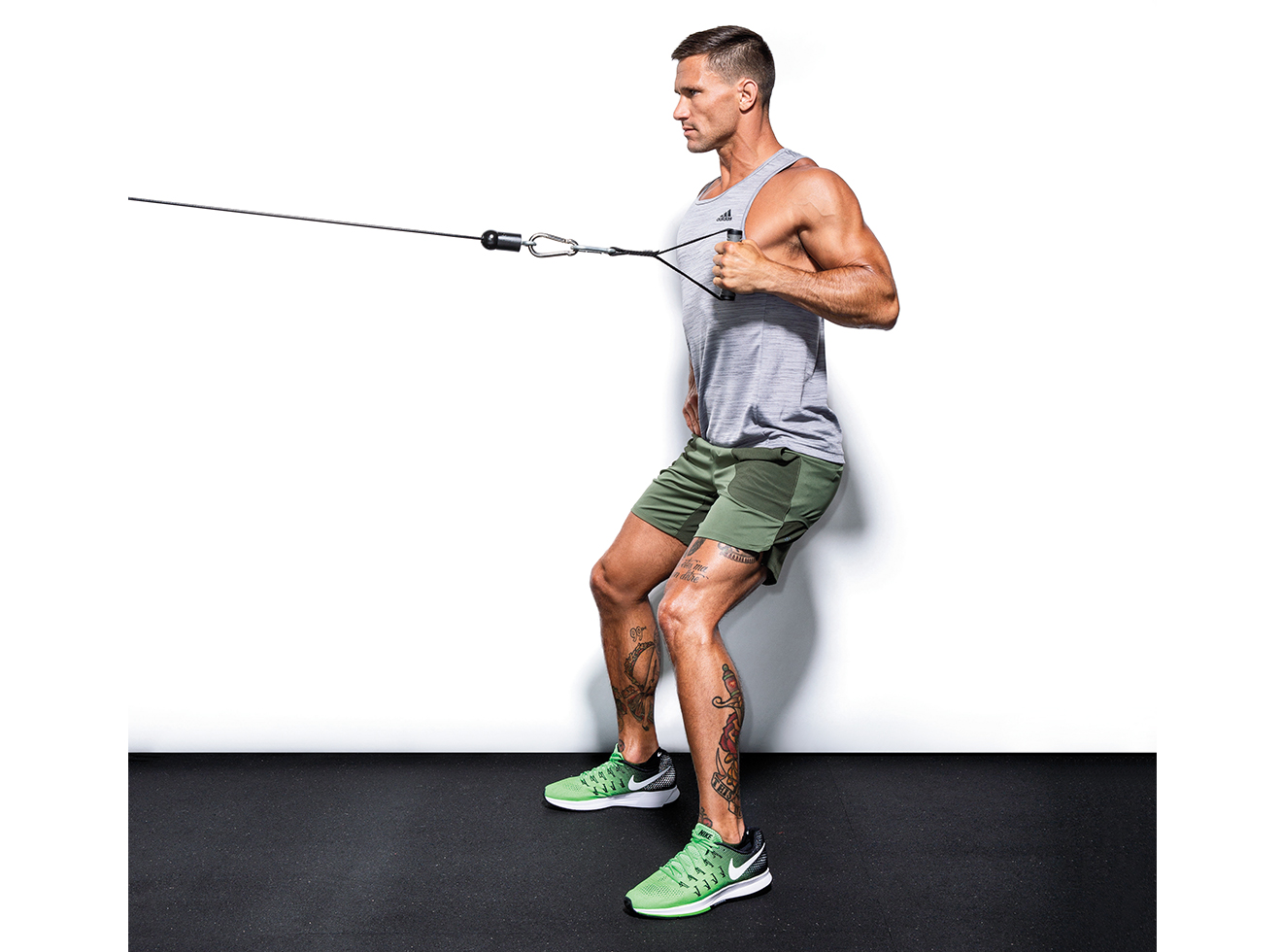 Single-arm Cable Row