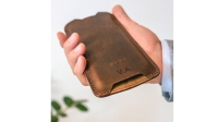 buckle and seam wallet