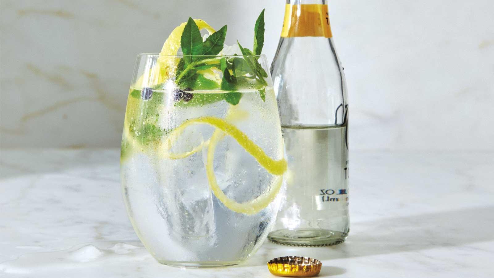 Gin And Tonic - Magazine cover