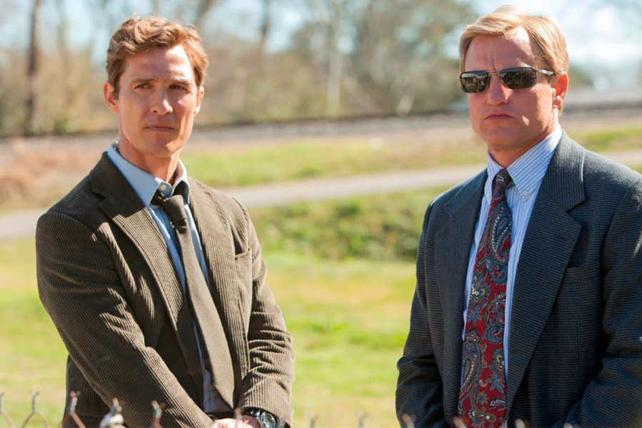 Matthew McConaughey and Woody Harrelson in True Detective