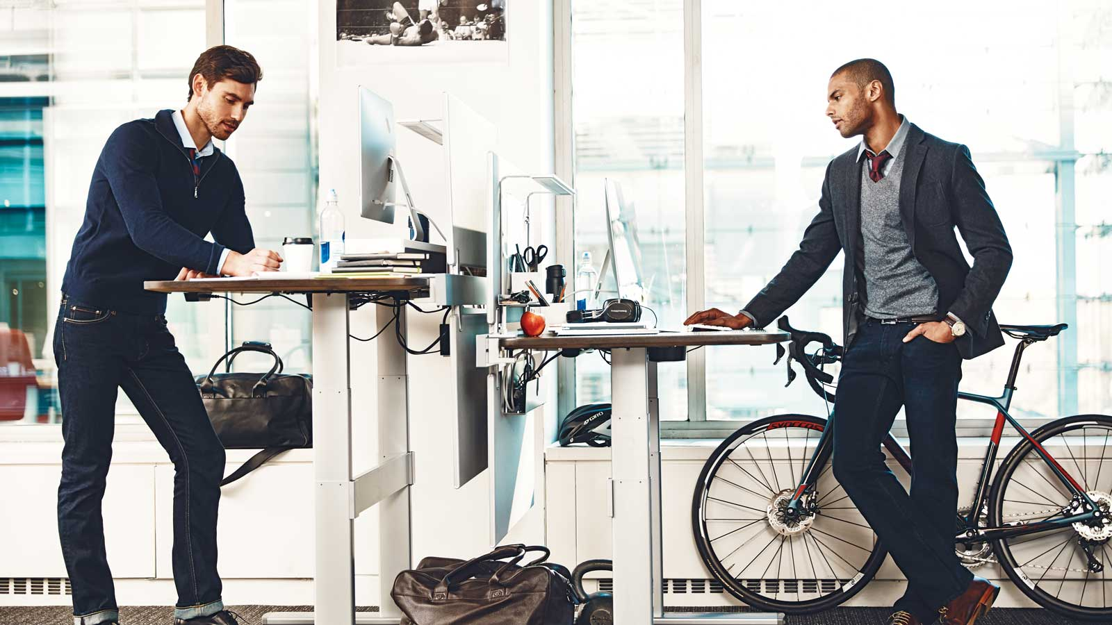 This Is the Ideal Office Setup For Low Stress and Better Physical Health
