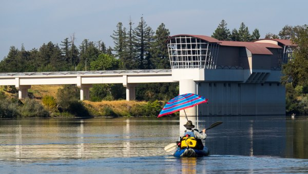 Urban Overnight on the Lower American River