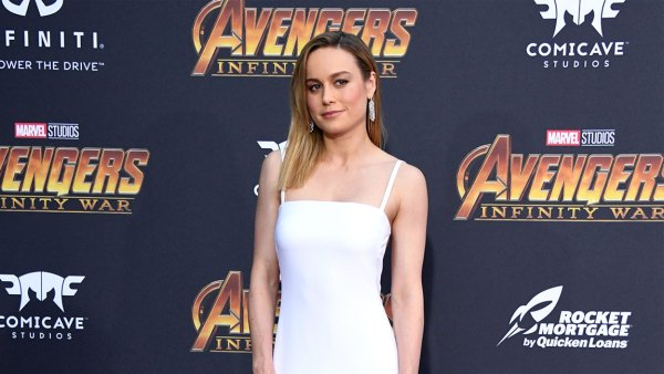 LOS ANGELES, CA - APRIL 23: Brie Larson attends the premiere of Disney and Marvel's 'Avengers: Infinity War' on April 23, 2018 in Los Angeles, California. (Photo by Jon Kopaloff/FilmMagic)