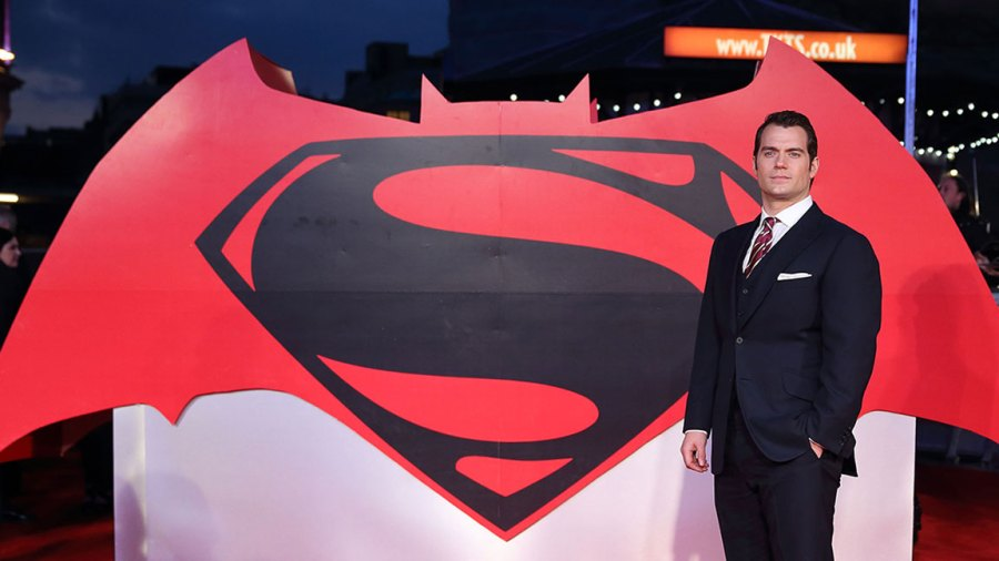 Henry Cavill arrives for the European Premiere of 'Batman V Superman: Dawn Of Justice' at Odeon Leicester Square on March 22, 2016 in London, England. (Photo by Mike Marsland/WireImage)