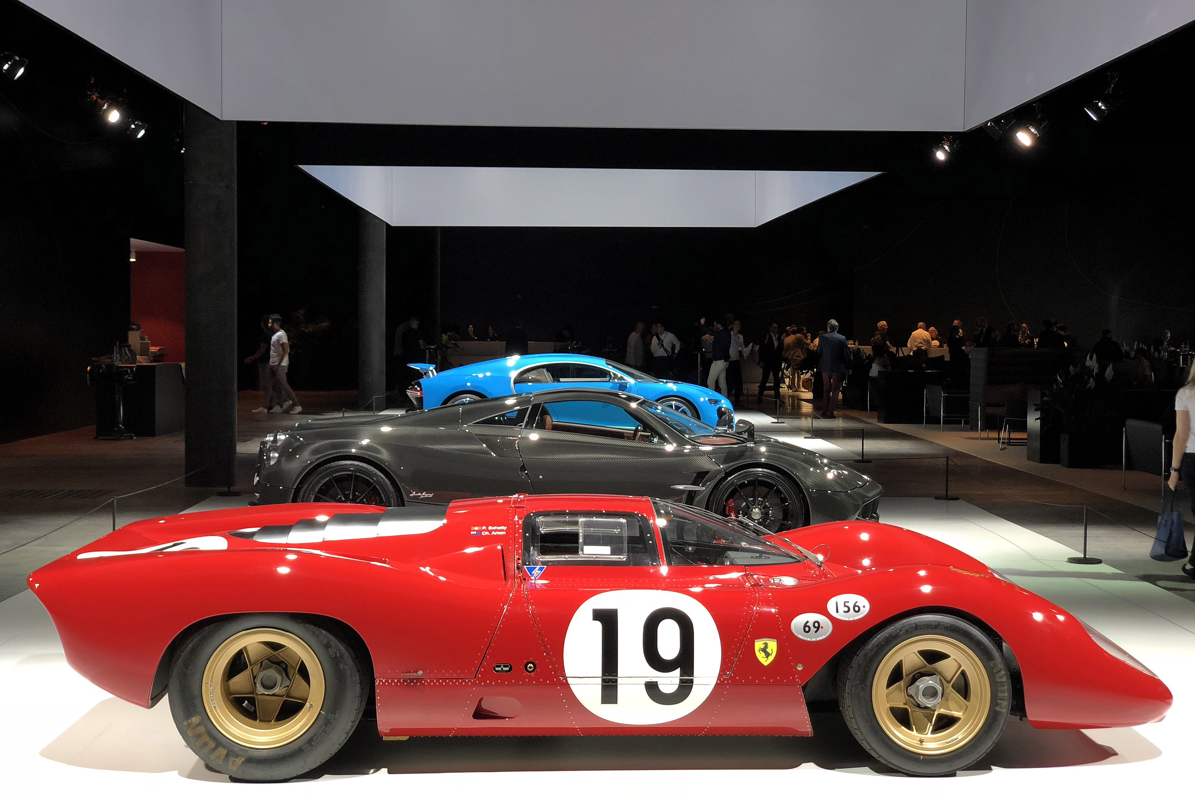 Grand Basel Best Cars From The Coolest Car Show You Didnt Know - Ferrari car show
