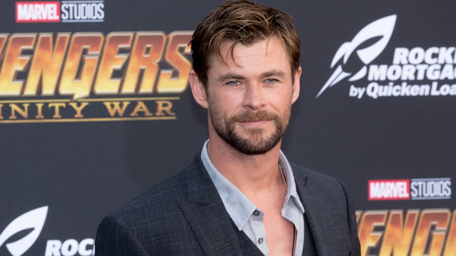 Chris Hemsworth attends the 'Avengers: Infinity War' World Premiere on April 23, 2018 in Los Angeles, California. (Photo by Greg Doherty/Patrick McMullan via Getty Images)