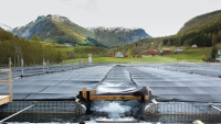 The halibut farm Sogn Aqua in Norway