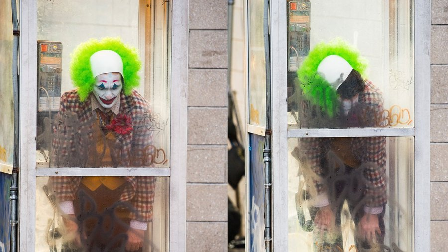 Joaquin Phoenix is seen filming a scene for 'Joker' in Brooklyn on September 24, 2018 in New York City. (Photo by Gotham/GC Images)