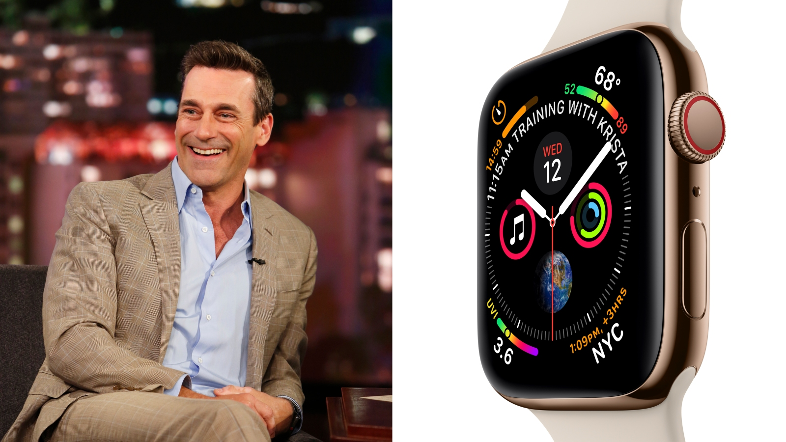 Apple Watch Series 4 Heres What Jon Hamm Thinks About The New Device