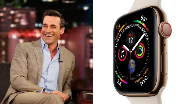 JON HAMM - apple watch series 4