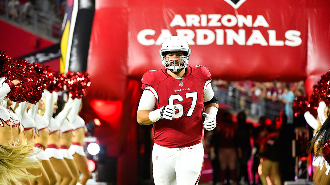 Cardinals Lineman Justin Pugh Talks Pizza and Training in 115 ...