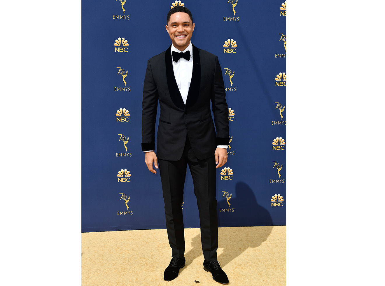 Trevor Noah attends the 70th Emmy Awards at Microsoft Theater on September 17, 2018 in Los Angeles, California.