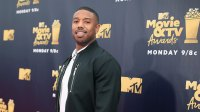 Michael B. Jordan attends the 2018 MTV Movie And TV Awards at Barker Hangar on June 16, 2018 in Santa Monica, California. (Photo by Christopher Polk/Getty Images for MTV)