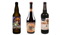 the best pumpkin beers, including Punkuccino from Elysian Brewing; Pompoen from Wicked Weed Brewing; Headless Heron from Central Waters Brewing