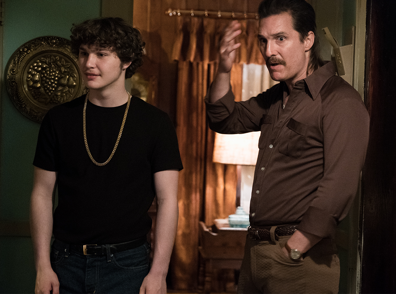McConaughey and co-star Richie Merritt in White Boy Rick