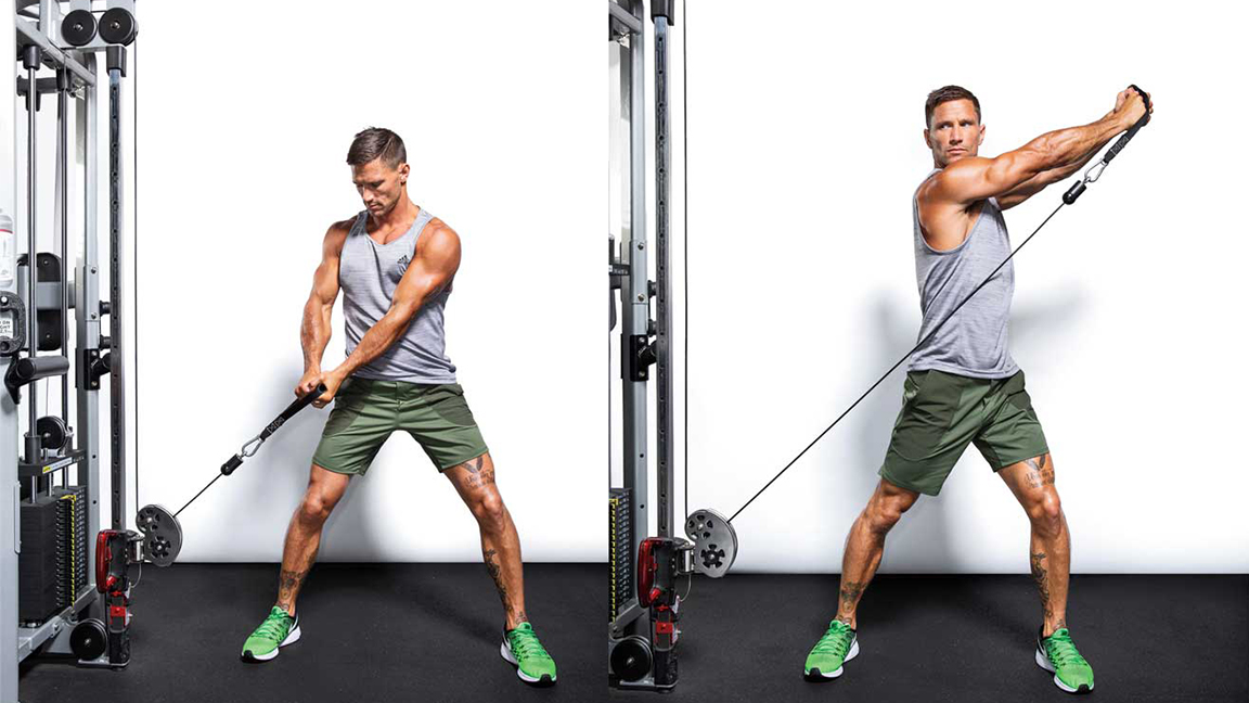 Hit Muscles From Head to Toe With This 45-Minute Cable Pulley Workout