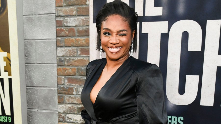 """Tiffany Haddish at the L.A. premiere of """"The Kitchen"""" in 2019"""