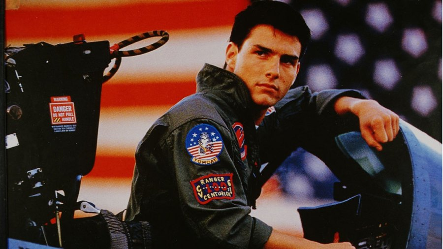 Tom Cruise, Schauspieler, USA, - als Pete Mitchell im Film `Top Gun'; R: Tony Scott, - USA 1985 (Photo by Röhnert/ullstein bild via Getty Images)