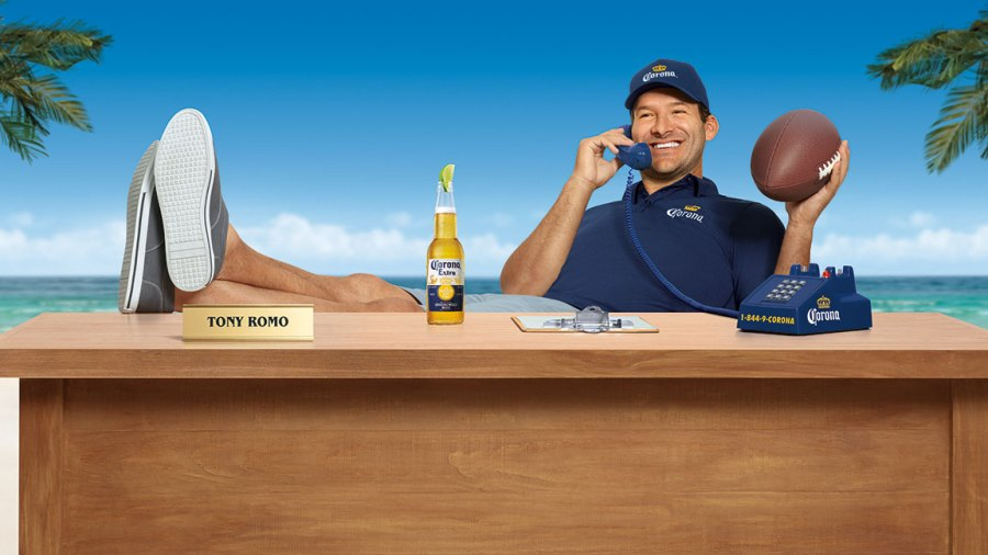 Tony Romo for the Corona Hotline