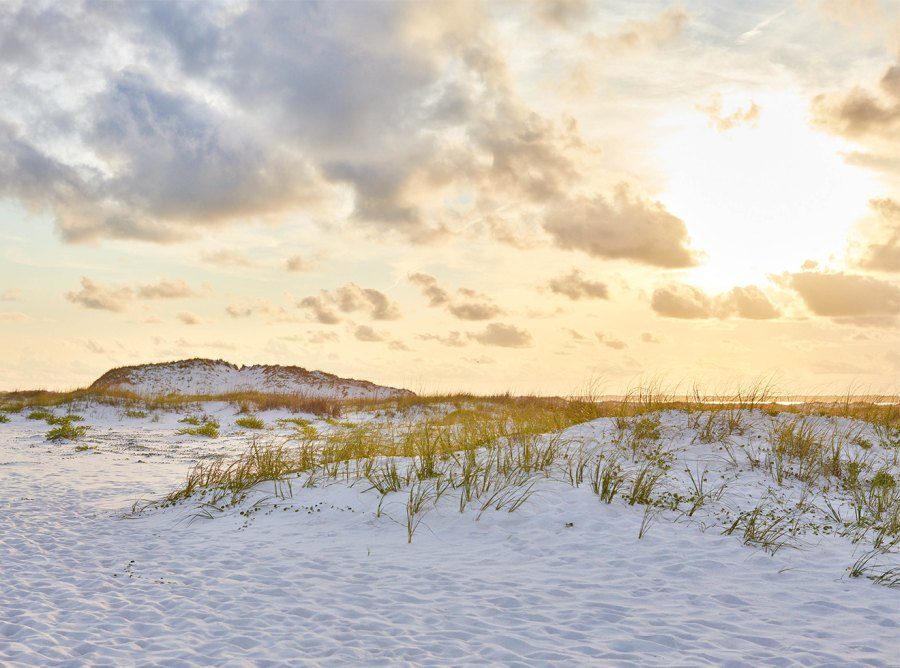 Gulf Islands National Seashore in Mississippi and Florida