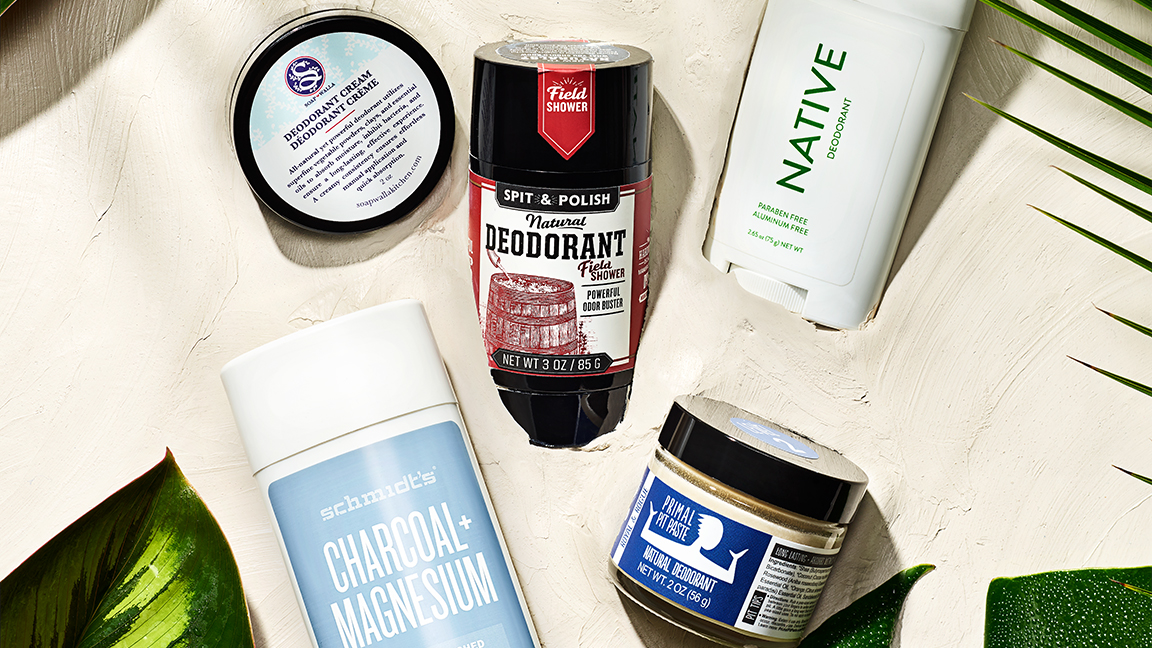 5 Truly All-natural Deodorants That'll Keep You Fresh and Dry