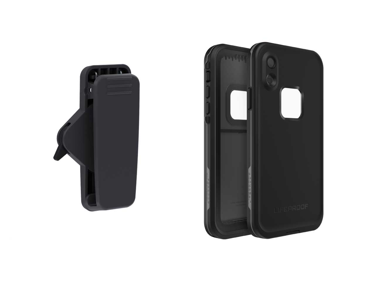 Lifeproof Belt Clip With Quickmount + FRĒ for iPhone XS