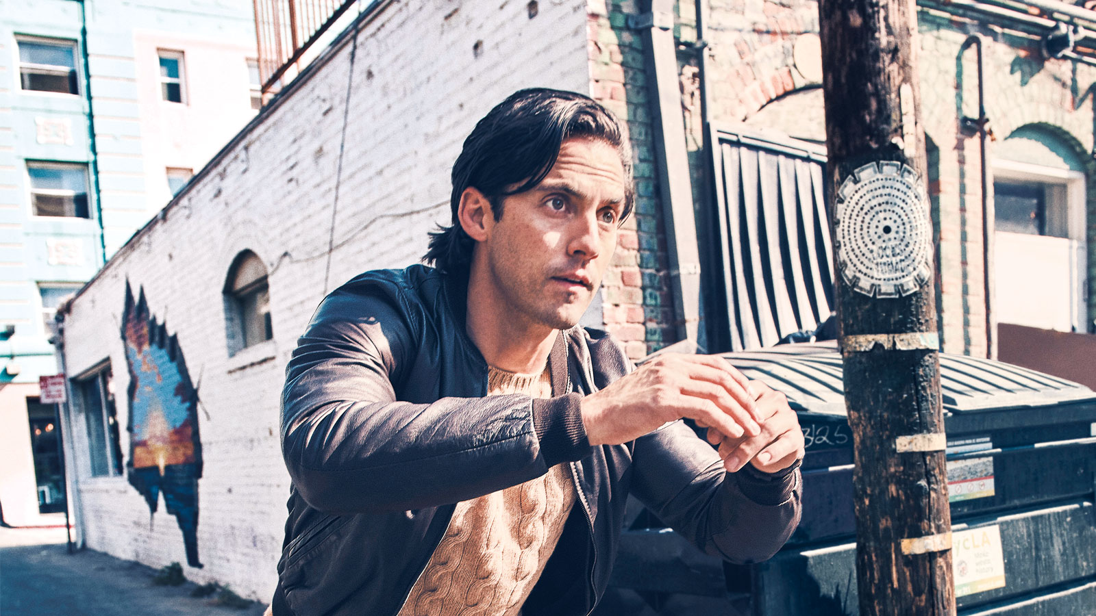 Gritty Gyms, Punching Bags, and Moving Tons of Weight': How Milo Ventimiglia Stays Fit