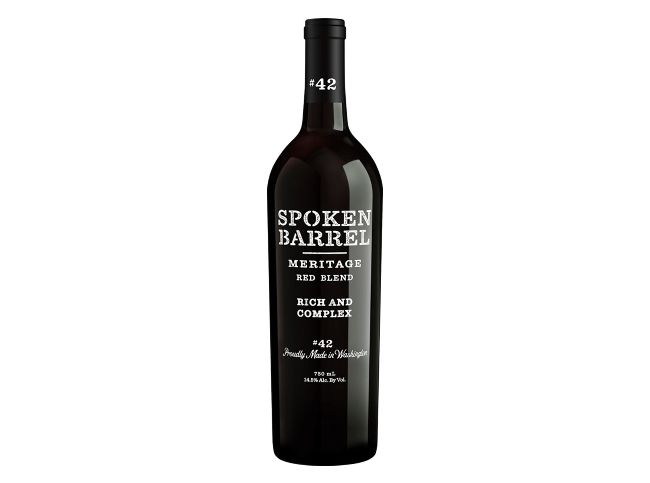 Spoken Barrel 2015 Meritage Red Blend