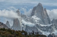 South America, Argentina, Patagonia, Los Glaciares, National Park, Andes Mountains, Mount Fitz Roy,. (Photo by: Prisma by Dukas/UIG via Getty Images)