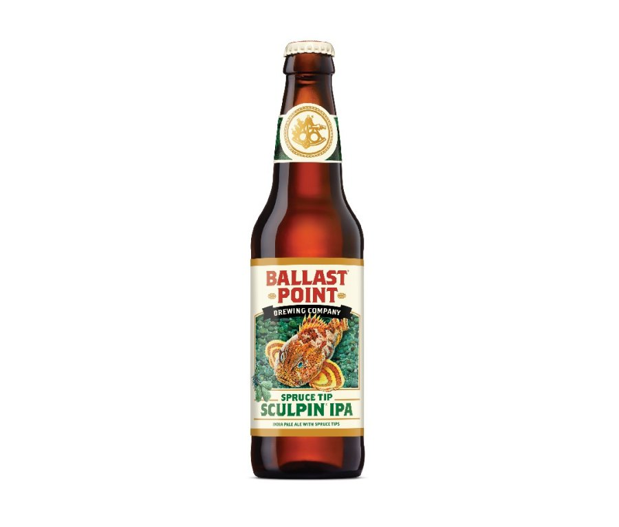 Ballast Point Brewing Company Spruce Tip Sculpin
