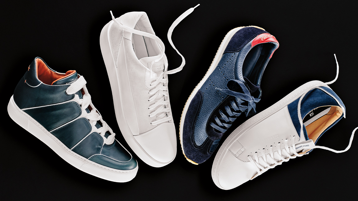 The Most Stylish Sneakers to Wear With a Suit