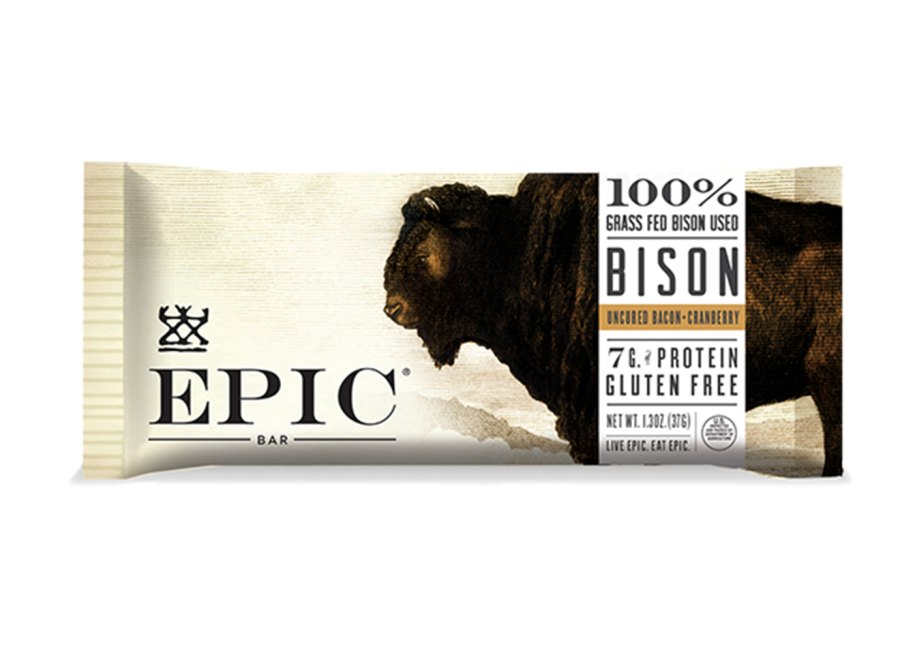 Epic Bison Bacon Cranberry Meat Bar