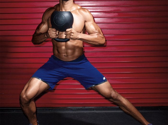 Alternating Halo to Lateral Lunge