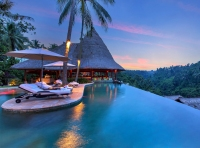 The Pool at the Viceroy Bali