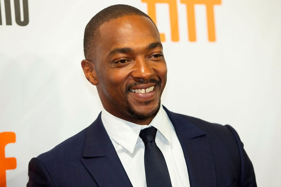 US actor Anthony Mackie attends the premiere of 'The Hate You Give' at the Toronto International Film Festival in Toronto, Ontario, September 7, 2018. (Photo by Geoff Robins / AFP) (Photo credit should read GEOFF ROBINS/AFP/Getty Images)