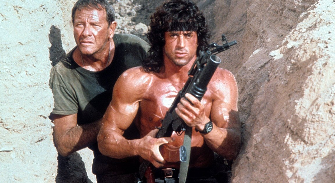 Here's Your First Look at Sylvester Stallone as John Rambo
