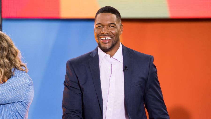 Michael Strahan attends ABC's 'Good Morning America'