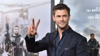 Chris Hemsworth at '12 Strong' World Premiere
