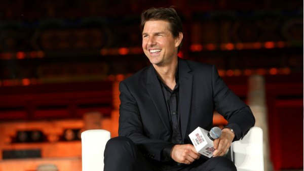 Tom Cruise attends the 'Mission: Impossible - Fallout' Press Conference at The Ancestral Temple on August 29, 2018 in Beijing, . (Photo by Emmanuel Wong/Getty Images for Paramount Pictures)