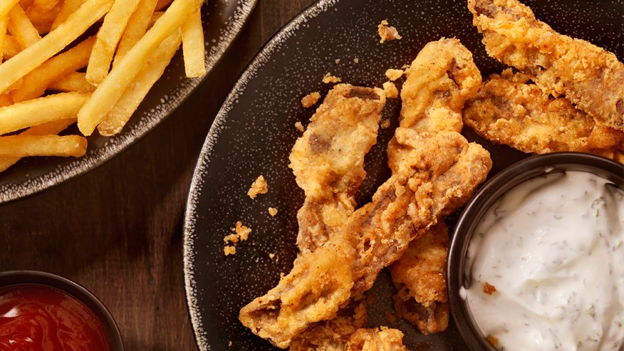 Chicken Fingers with French Fries