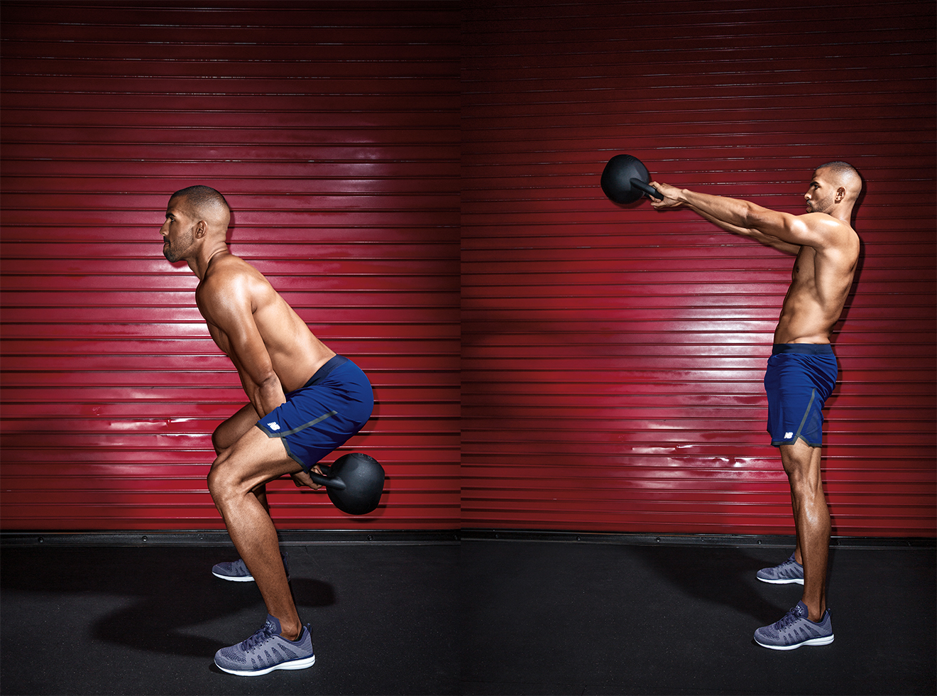 Kettlebell Hike Swing to Deadlifft
