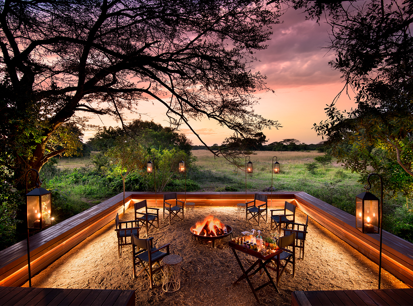 andBeyond villa in Phinda Private Game Reserve