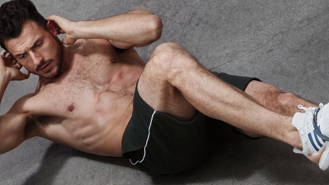 Kick Your Core Workout Into High Gear With the Banded Bicycle Crunch